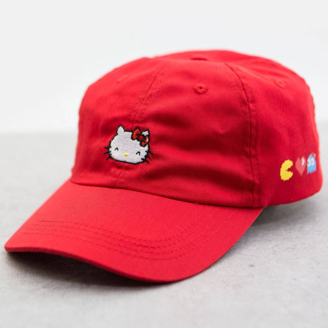 BAIT x Sanrio x Pac-Man Hello Kitty Hat red 433f1e3d945