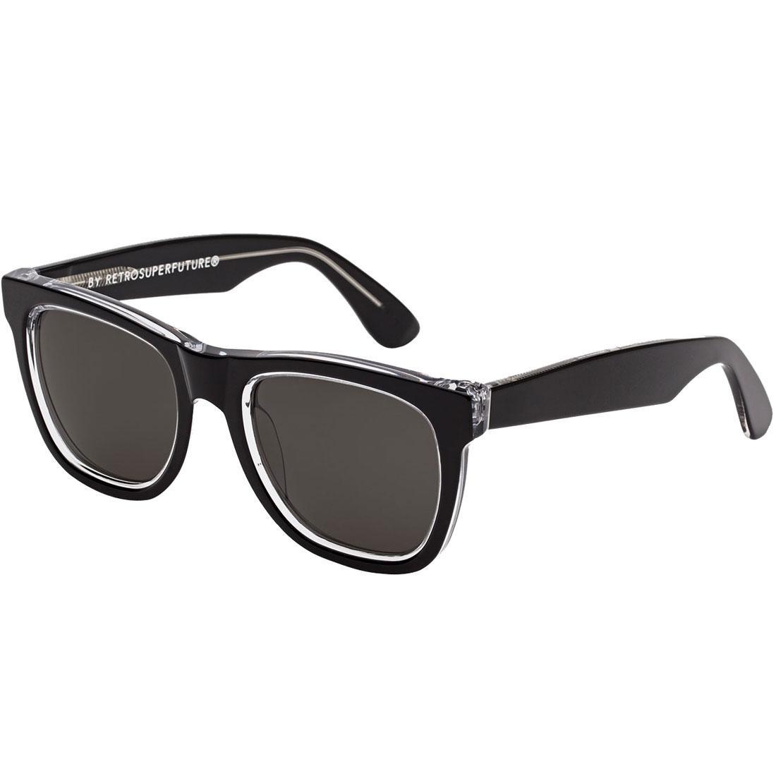Super Sunglasses Classic Acrhomatic Sunglasses (black)