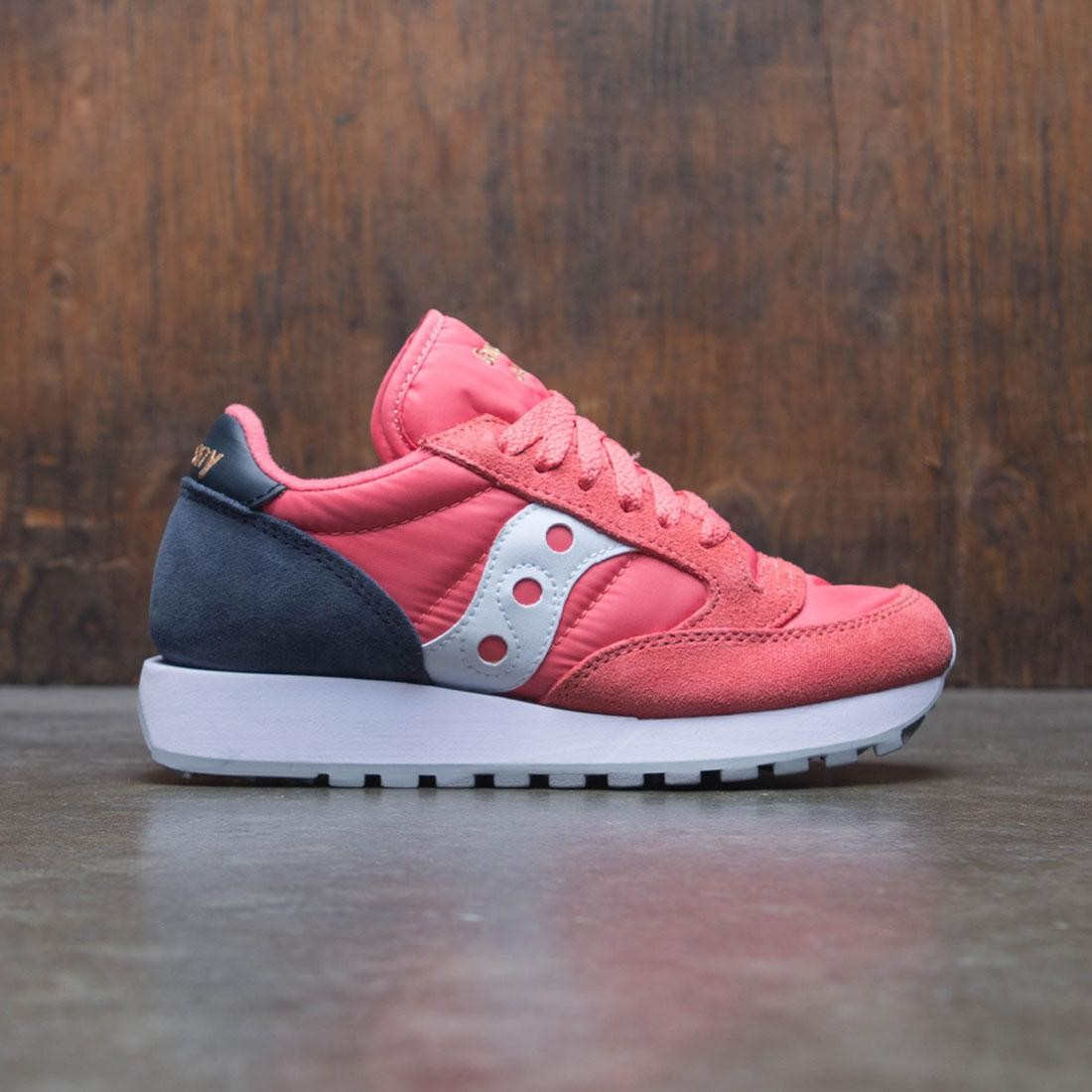 outlet store 981c1 f135c Saucony Women Jazz Original (pink / navy)
