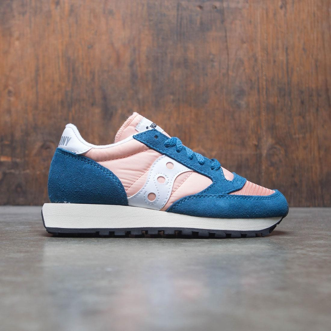 premium selection a615d 438bf Saucony Women Jazz Original Vintage (pink / teal / peach)