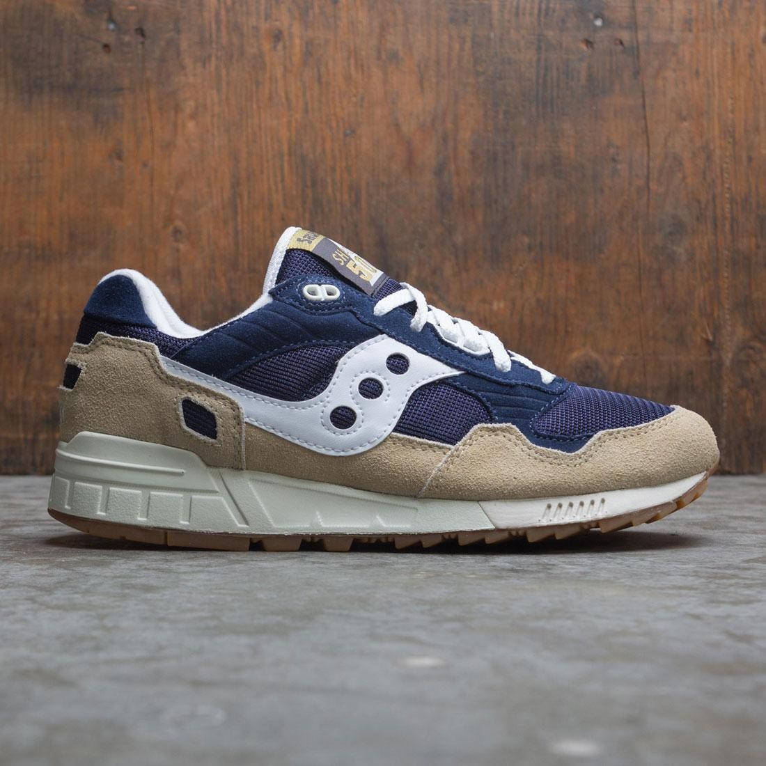Saucony Men Shadow 5000 (tan / navy / white)