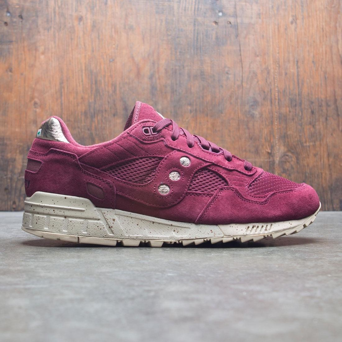 b43571643112 Saucony Men Shadow 5000 purple maroon gold