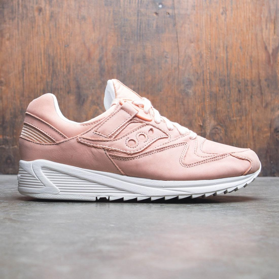 5729092f Saucony Men Grid 8500 HT (pink / peach / white)