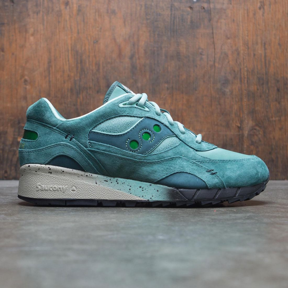 new product 20f0e d146d Saucony x Feature Men Shadow 6000 - Living Fossil (green / gray)