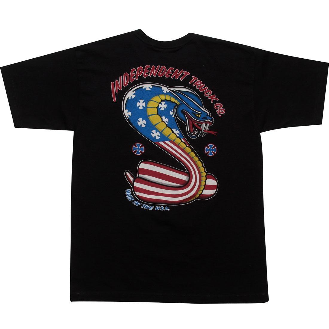Independent Truck Company USA Cobra Regular Short Sleeve Tee (black)