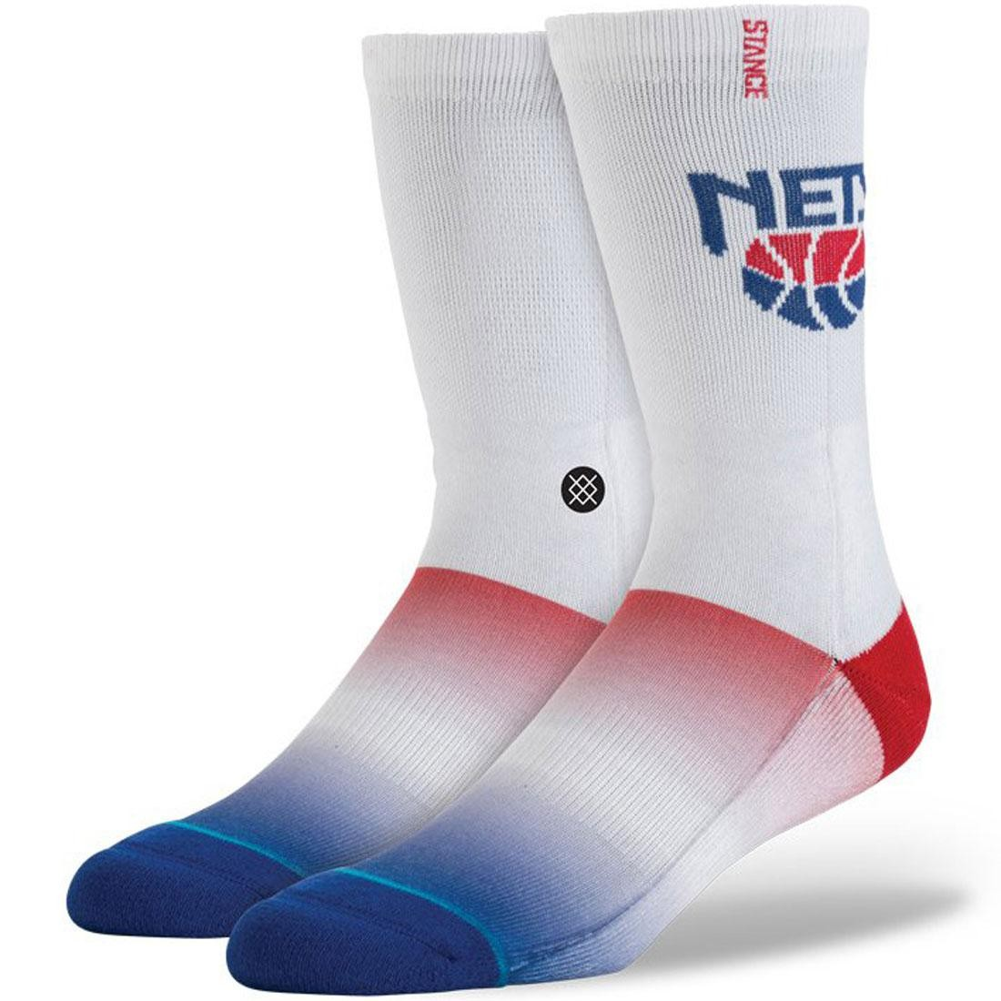 Stance x NBA NJ Nets HWC Socks (white)