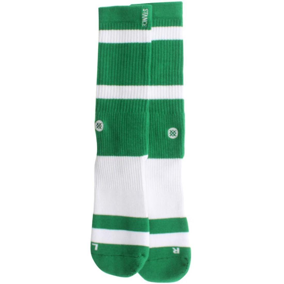 Stance Boston Socks (green)