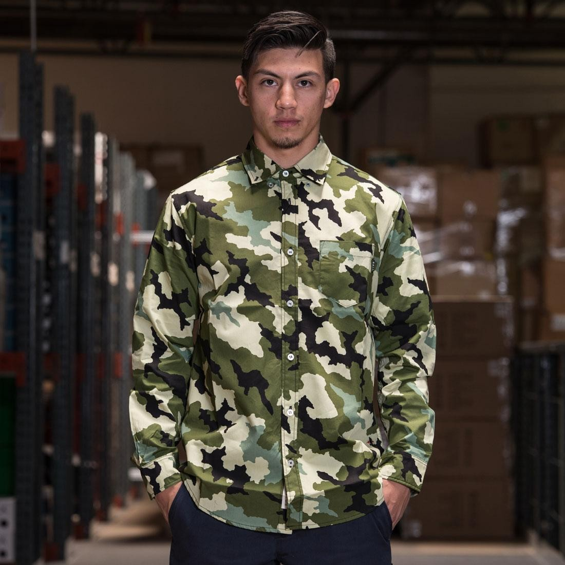 BAIT Basics Long Sleeve Shirt (camo)