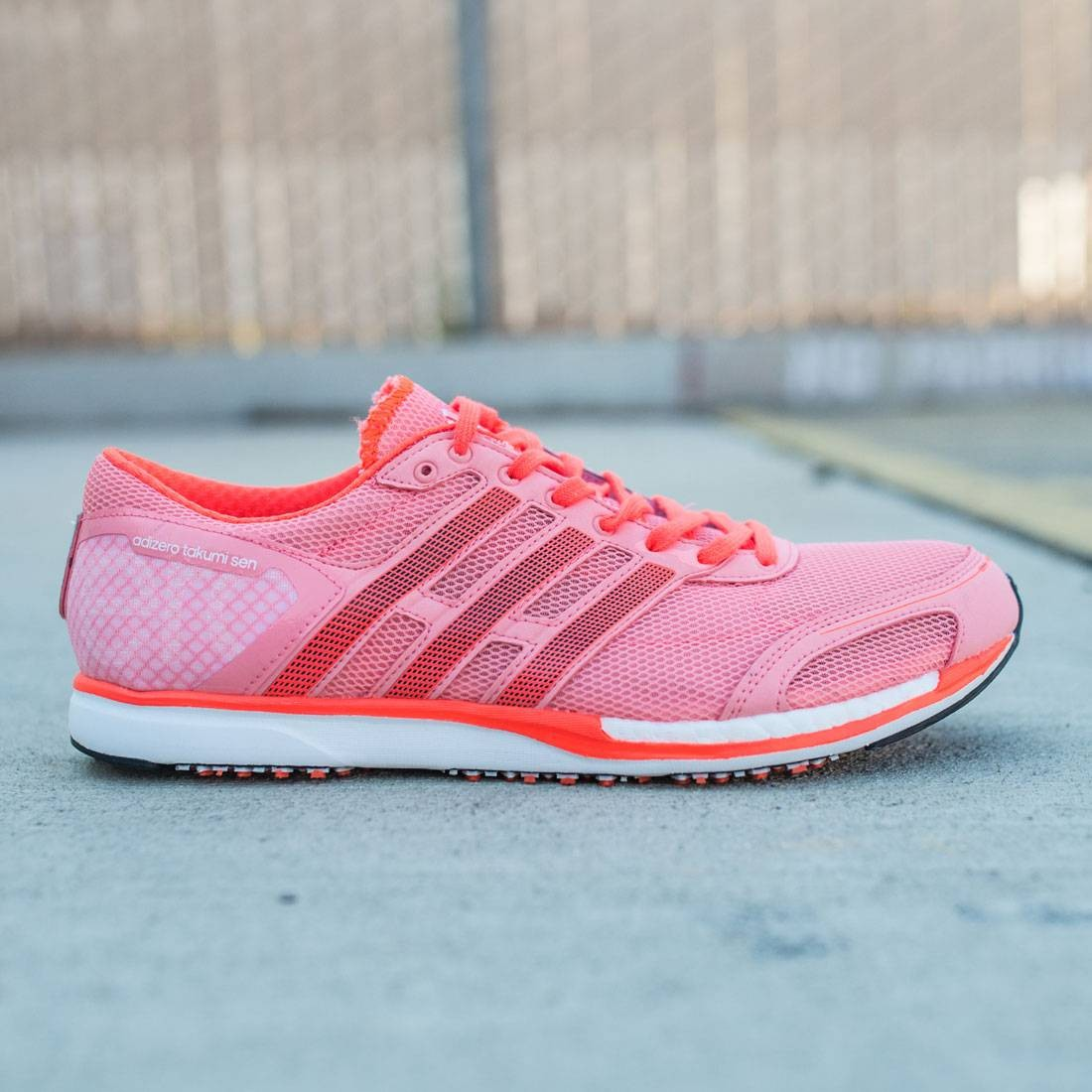 Adidas Men Adizero Takumi Sen 3 (pink ray pink core black solar red)