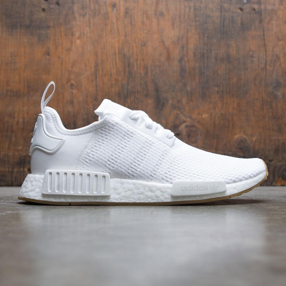 fc1136fb4 Adidas Men NMD R1 white footwear white gum
