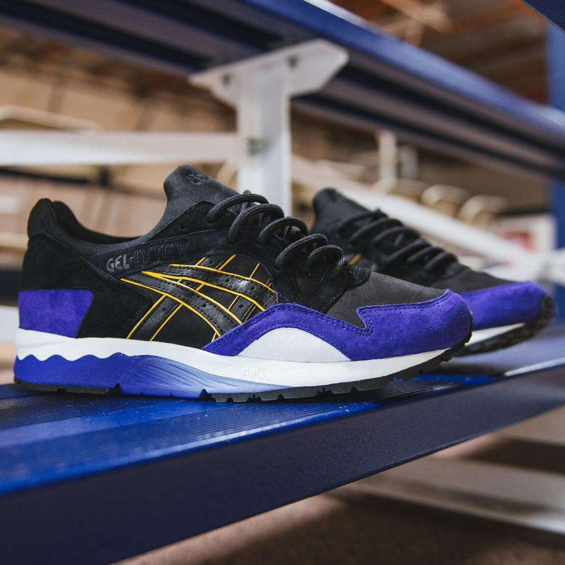 BAIT x Asics Gel Lyte V Bay Pack - Splash City (black   warriors blue) 5593bbf106