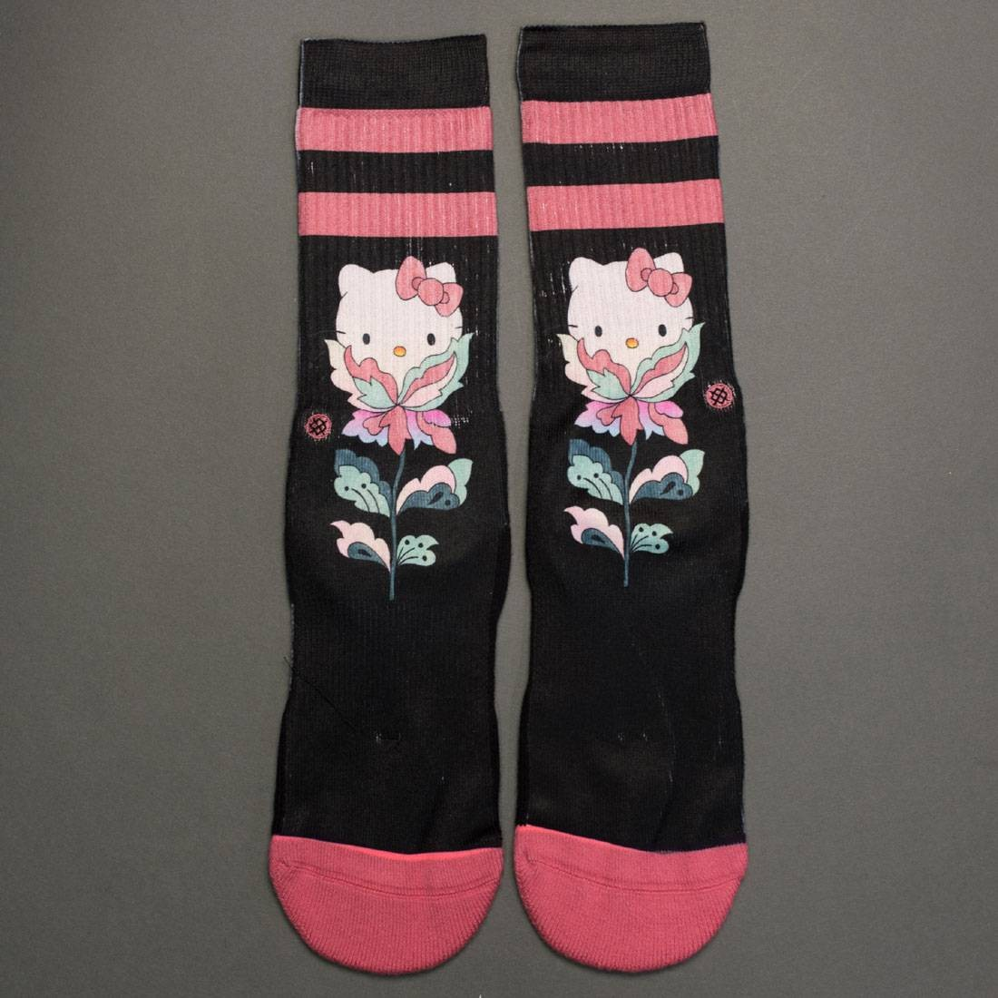 431a11cbe Stance x Hello Kitty Women Flower Friend Socks black
