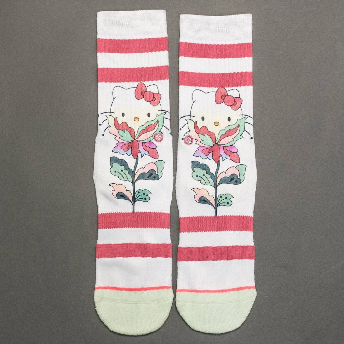 f2f317b69 Stance x Hello Kitty Women Full Bloom Socks multi