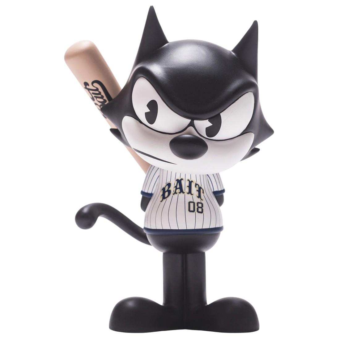 BAIT x Dreamworks x SWITCH Collectibles Felix the Cat Slugger 6 Inch Figure - Denver Exclusive (black / white)