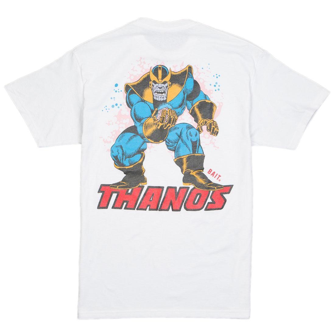 BAIT x Marvel Thanos Men Power Stance Glow In The Dark Tee (white)