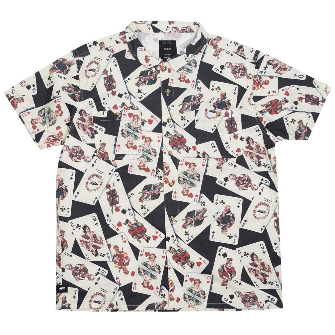 10 Deep Men Luck Of The Draw Button Down Shirt (multi)