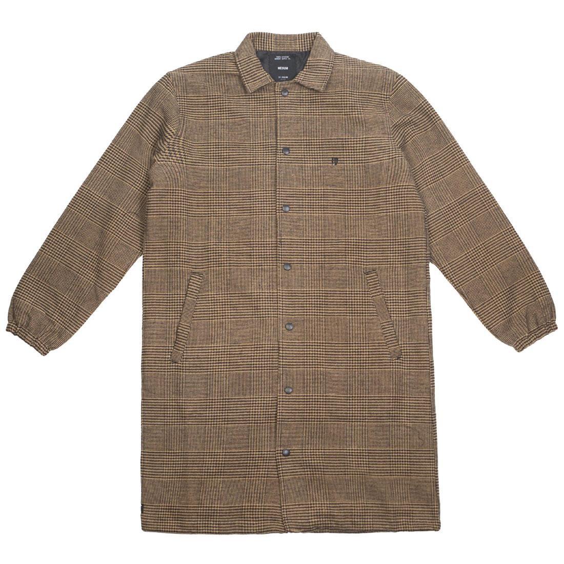 10 Deep Men Streeters Coaches Jacket (brown / tan)