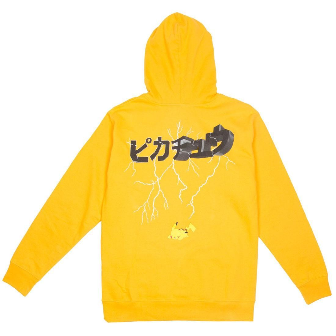 BAIT Exclusive 10 Deep x Pokemon Men Lightning Strikes Hoody (yellow)