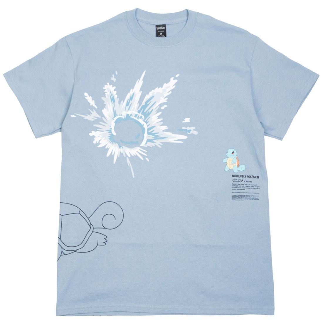 BAIT Exclusive 10 Deep x Pokemon Men Waterblast Tee (blue / light blue)
