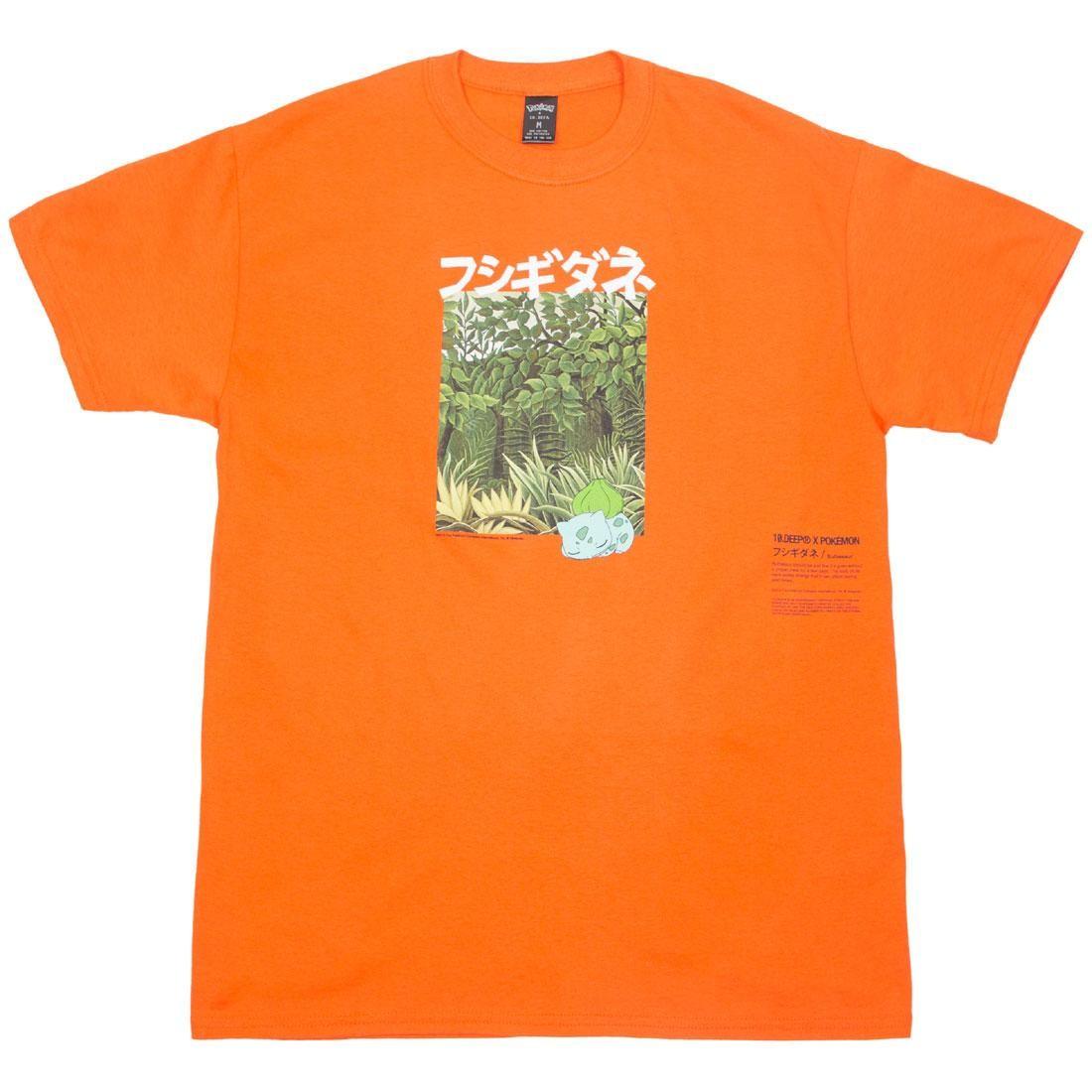 BAIT Exclusive 10 Deep x Pokemon Men Bulbasaur Jungle Tee (orange)