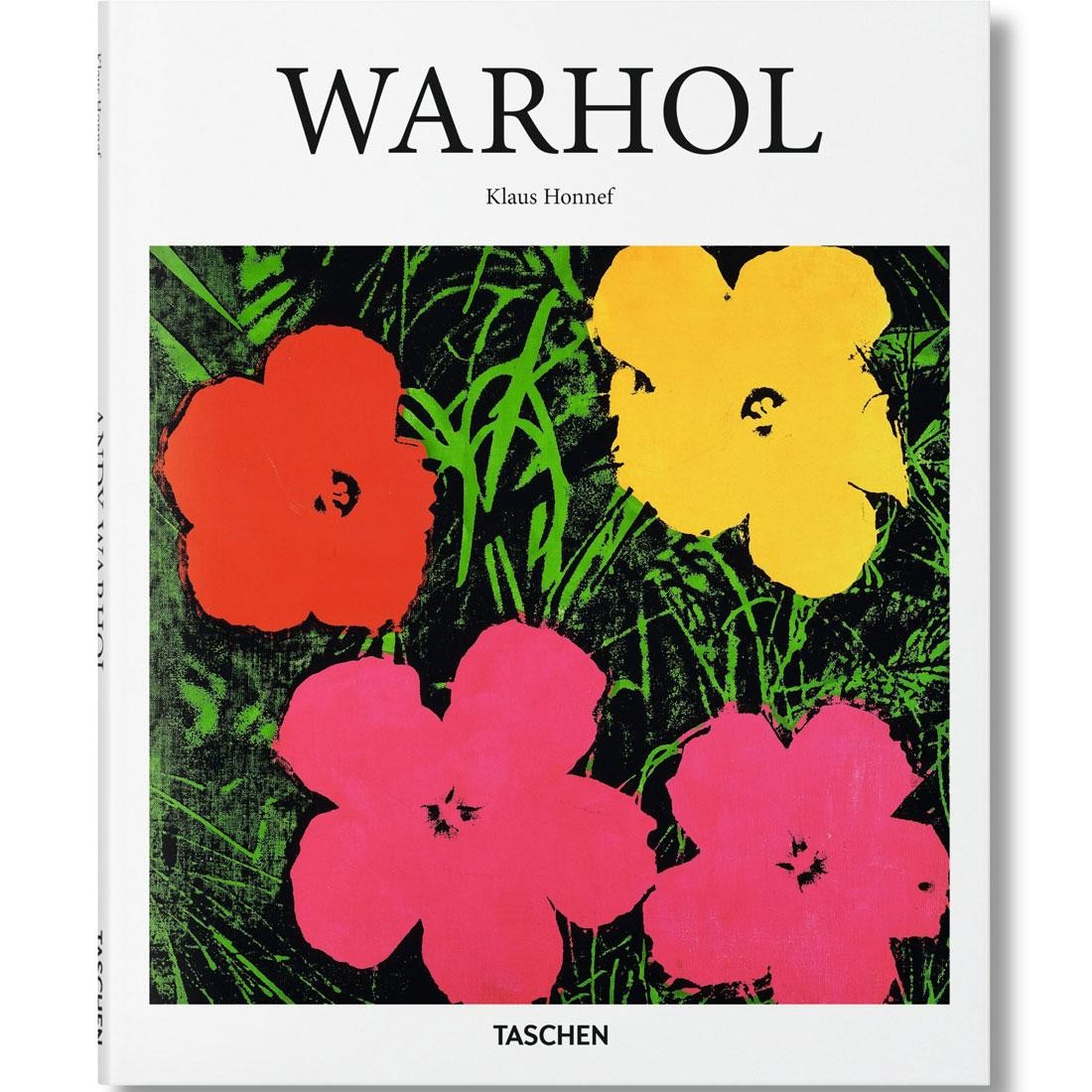 Warhol By Klaus Honneff Hardcover Book (white / hardcover)