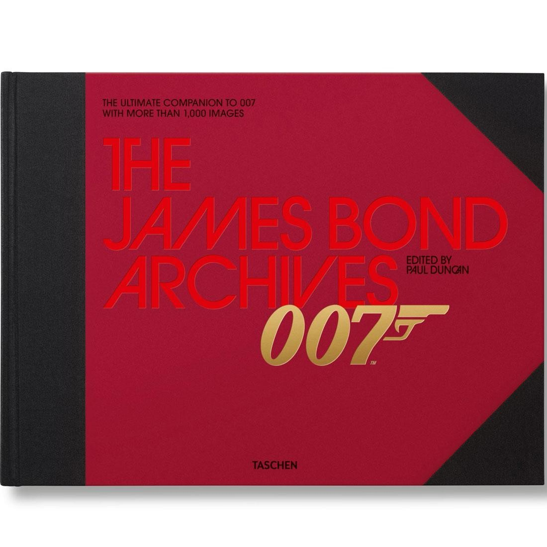 The James Bond Archives By Paul Duncan Book (black / hardcover)