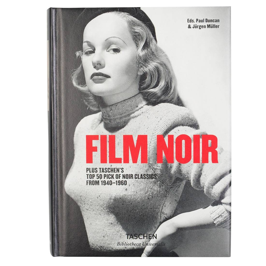 Film Noir Hardcover Book (black / hardcover)