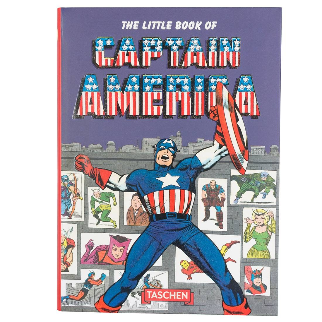The Little Book Of Captain America  Book (blue / hardcover)