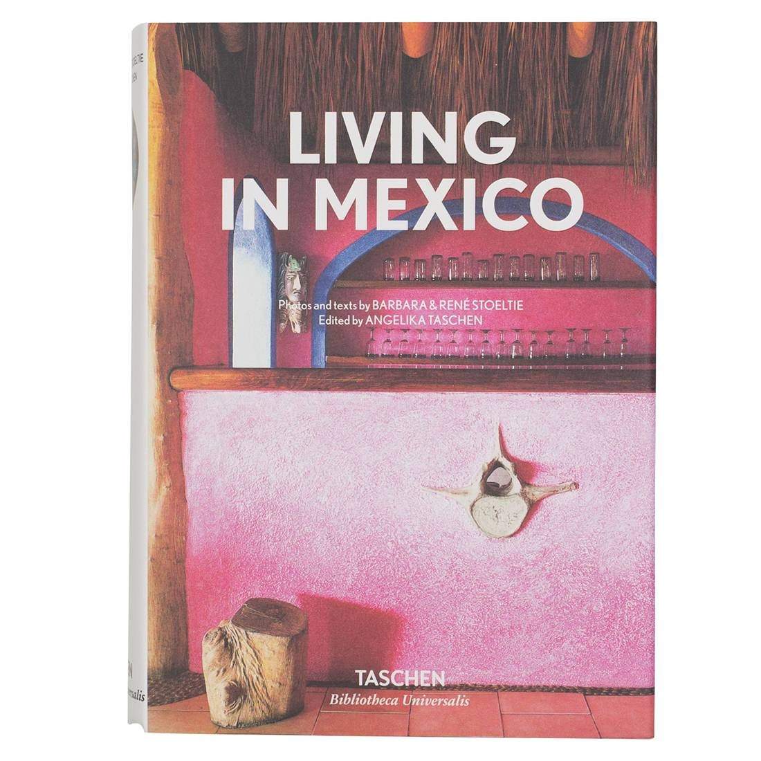 Living In Mexico Book (brown / hardcover)