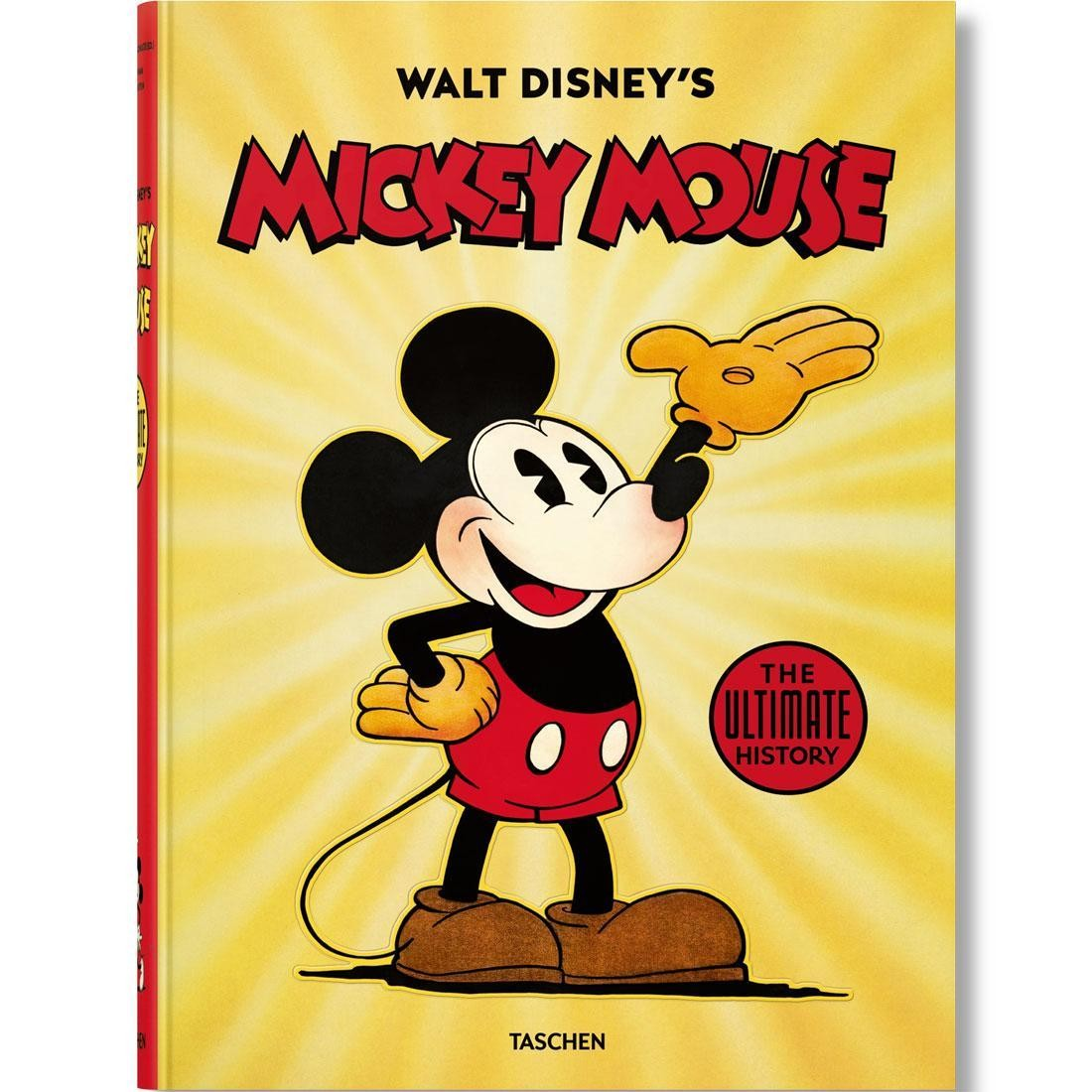 bd288dfeb Walt Disney's Mickey Mouse: The Ultimate History Book yellow hardcover