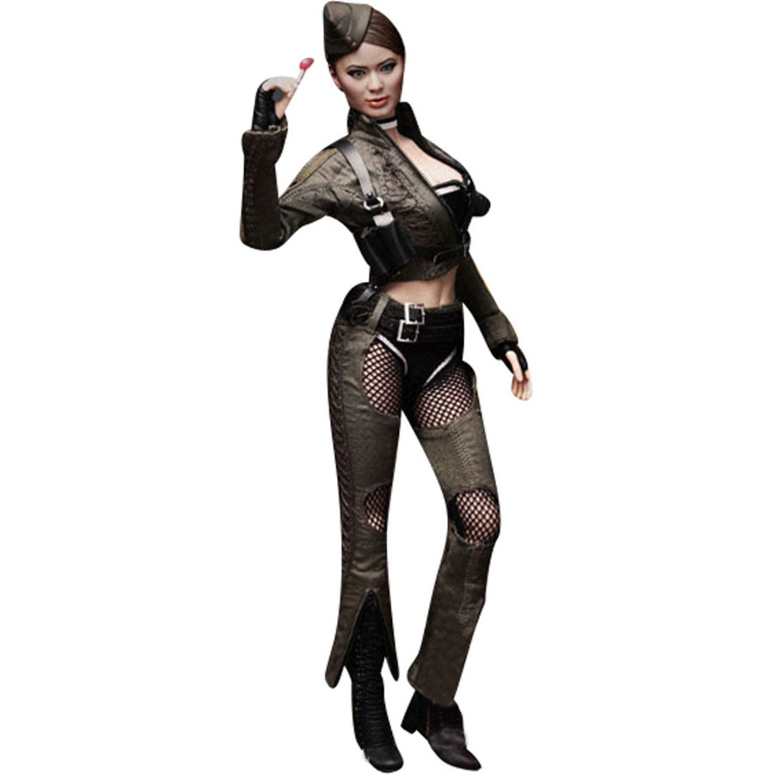 hot toys amber sucker punch 1/6 scale collectible figure (green)