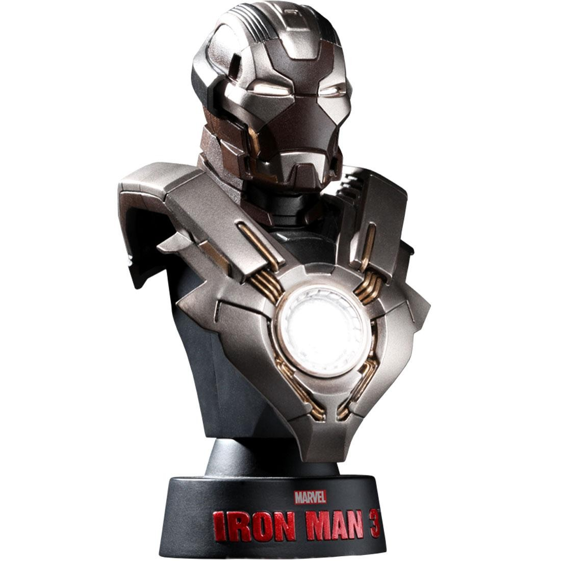 Hot Toys Iron Man 3 Iron Man Mark 24 1/6 Scale Bust Figure (silver)