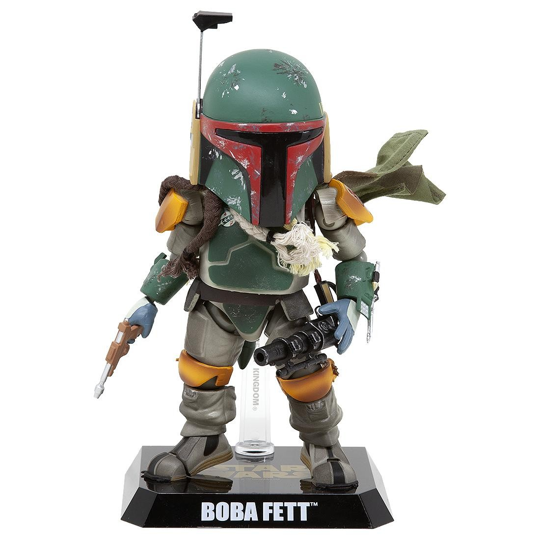 Beast Kingdom Egg Attack Action Star Wars Episode V EAA-020 Boba Fett Figure (green)
