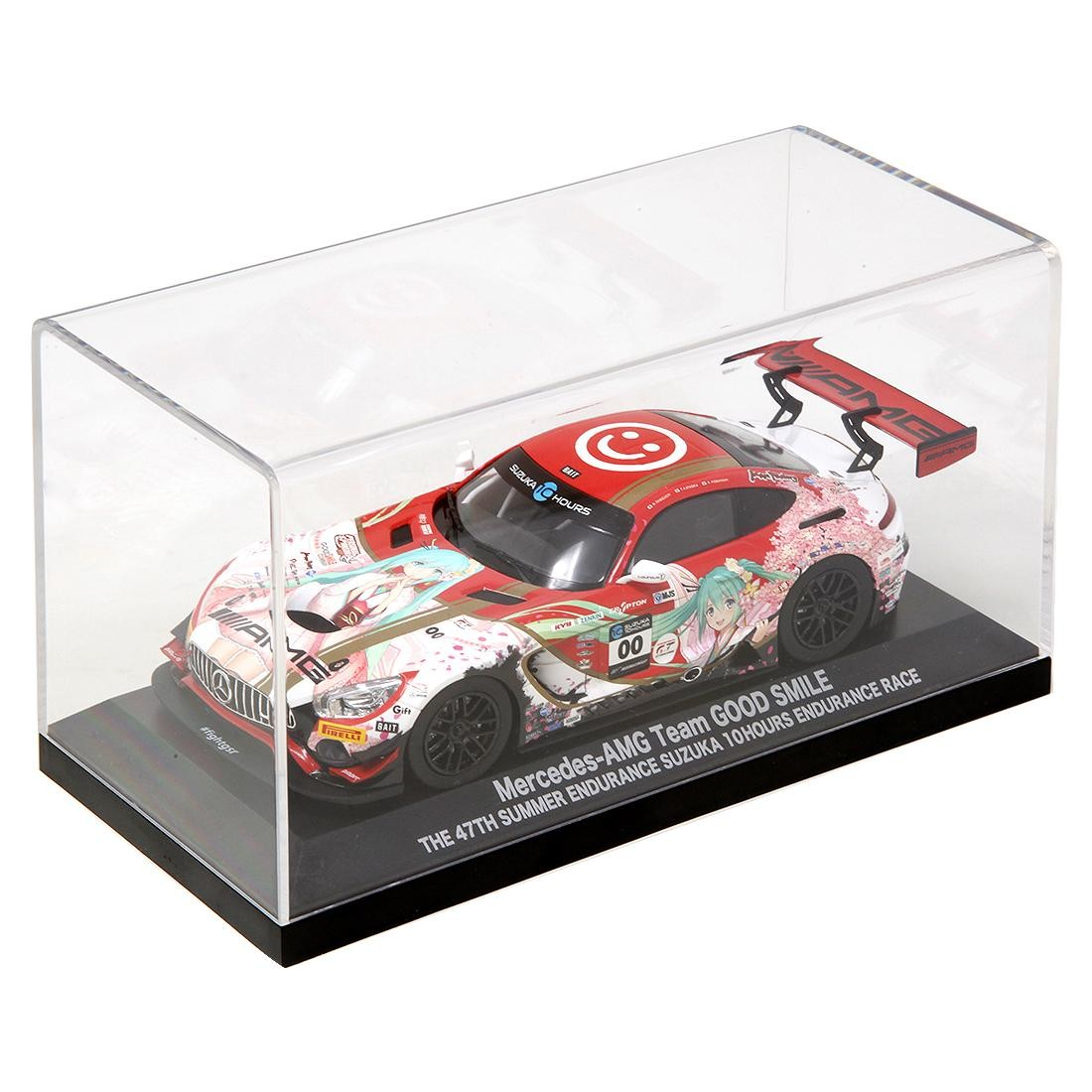 Good Smile Racing Hatsune Miku GT Project Mercedes-AMG 2018 Suzuka 10H Ver. 1/32 Scale (red)