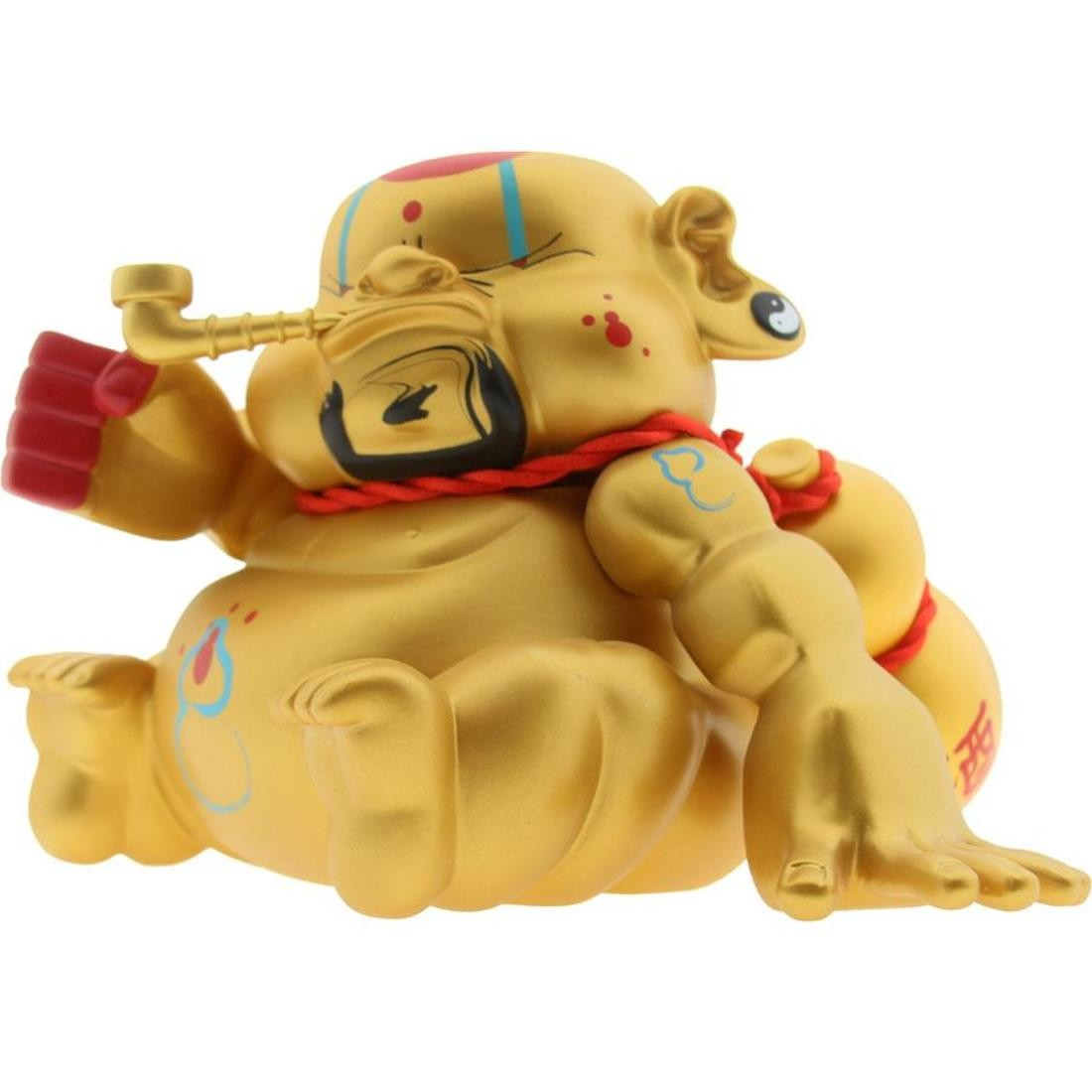 BeeFy Bad Bad Buddha Vinyl Figure (gold)
