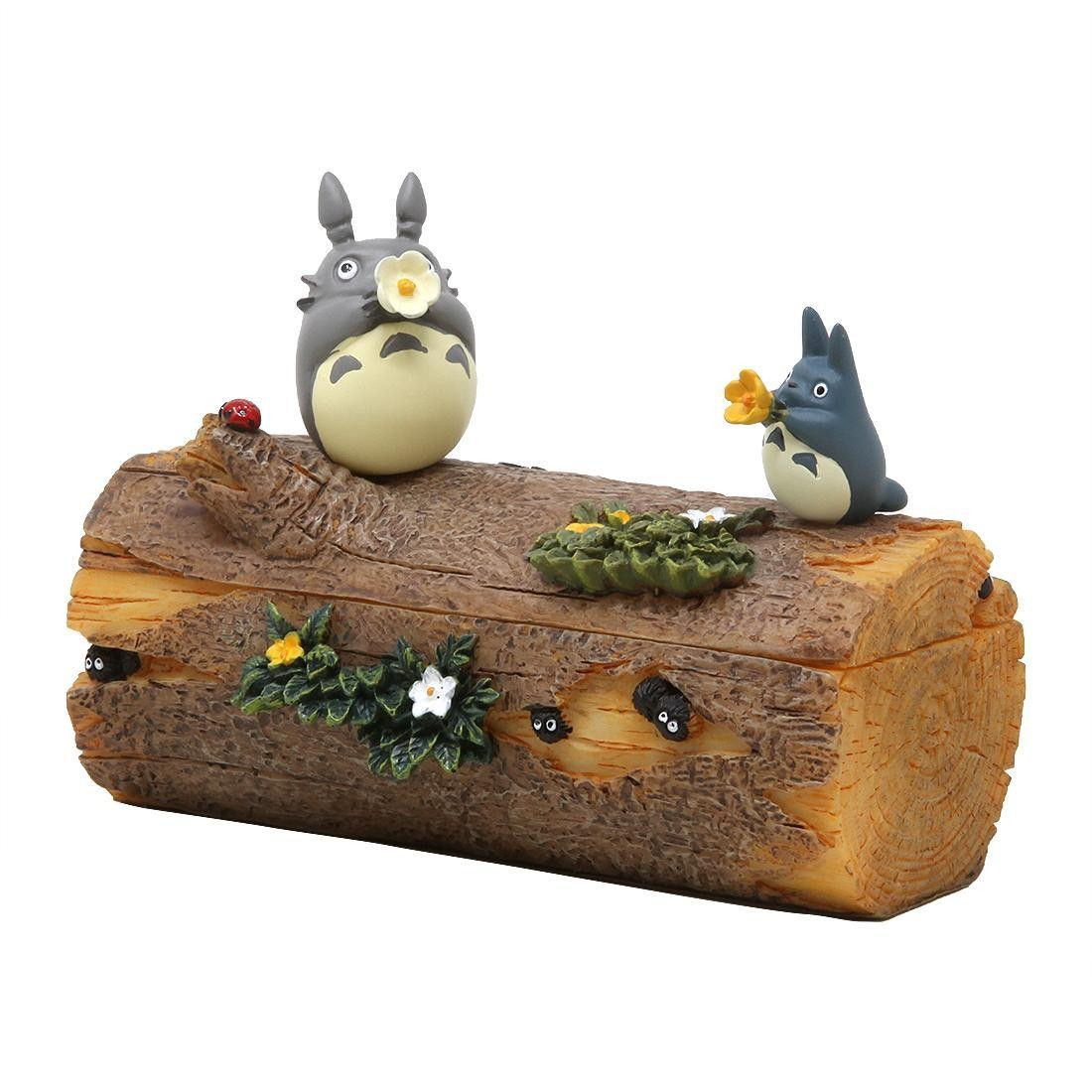 Studio Ghibli Benelic My Neighbor Totoro Totoro's Flower Trumpet Accessory Box (brown)