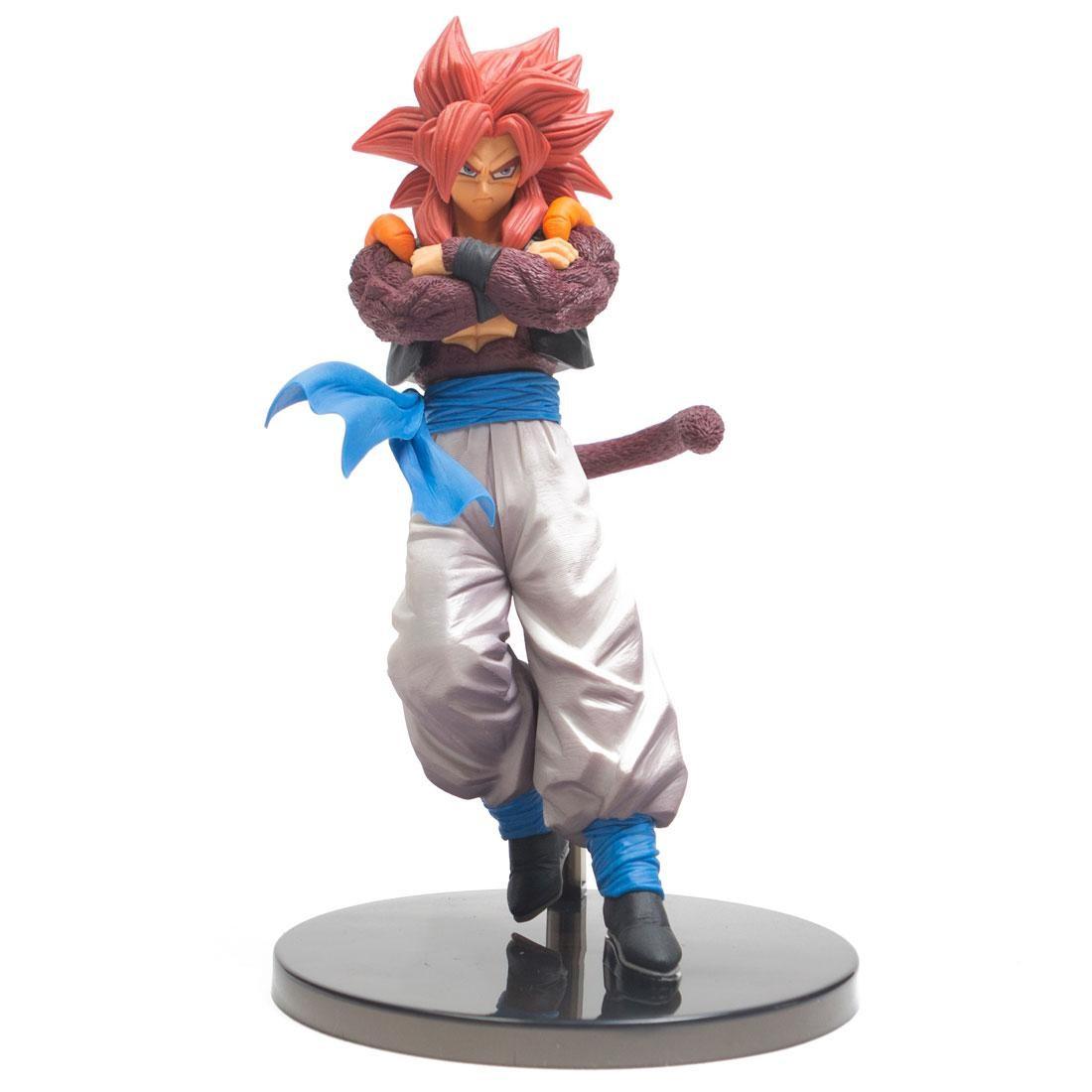 Banpresto Dragon Ball Super Goku Fes Vol 7 Super Saiyan 4 Gogeta Figure Red