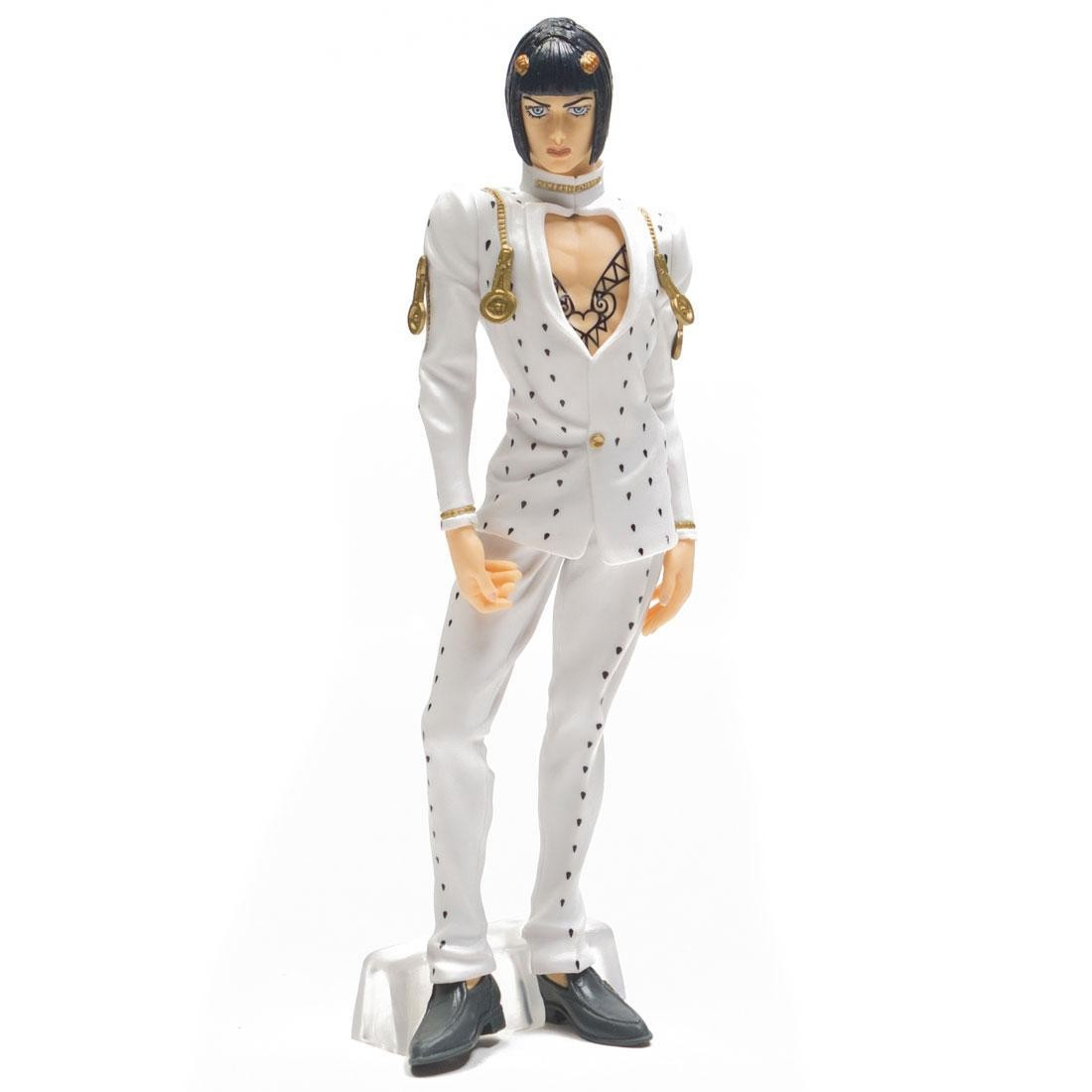 Banpresto Jojo S Bizarre Adventure Golden Wind Jojo S Figure Gallery 2 Bruno Bucciarati Figure White