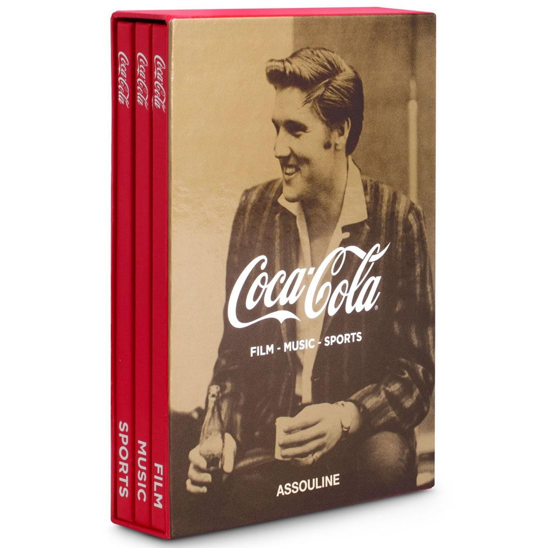 Coca Cola: Film Music Sports Book By Assouline (red / hardcover)