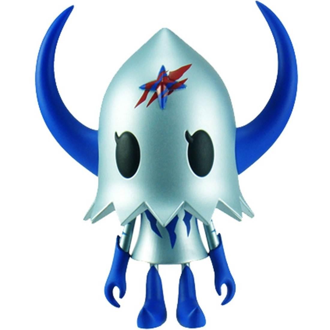 Devilrobots Evirob Figure (silver / blue) - BAIT SDCC Exclusive
