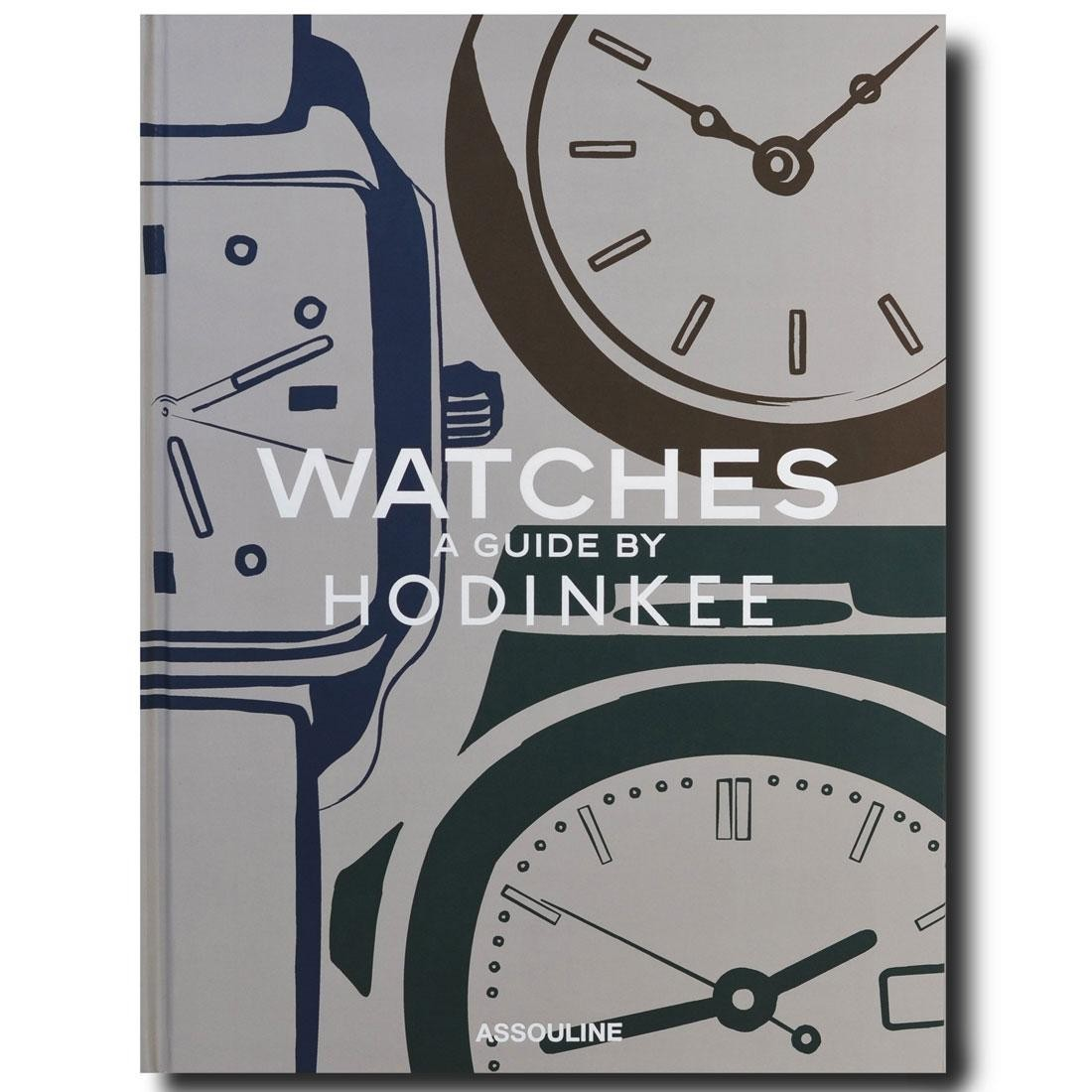 Watches: A Guide By Hodinkee Book (gray)