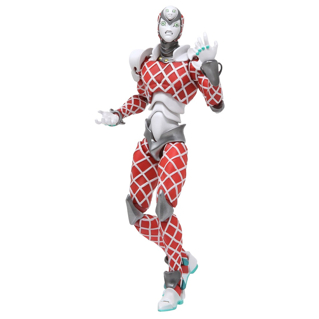 Medicos Super Action Statue JoJo's Bizarre Adventure King Crimson Figure (red)