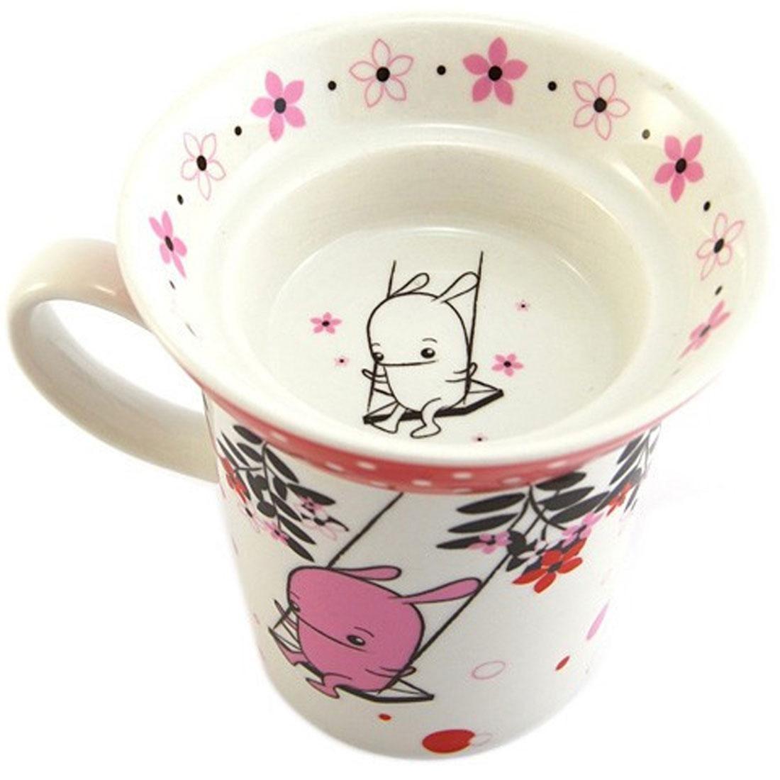 Pecanpals Cup Set (red / pink)