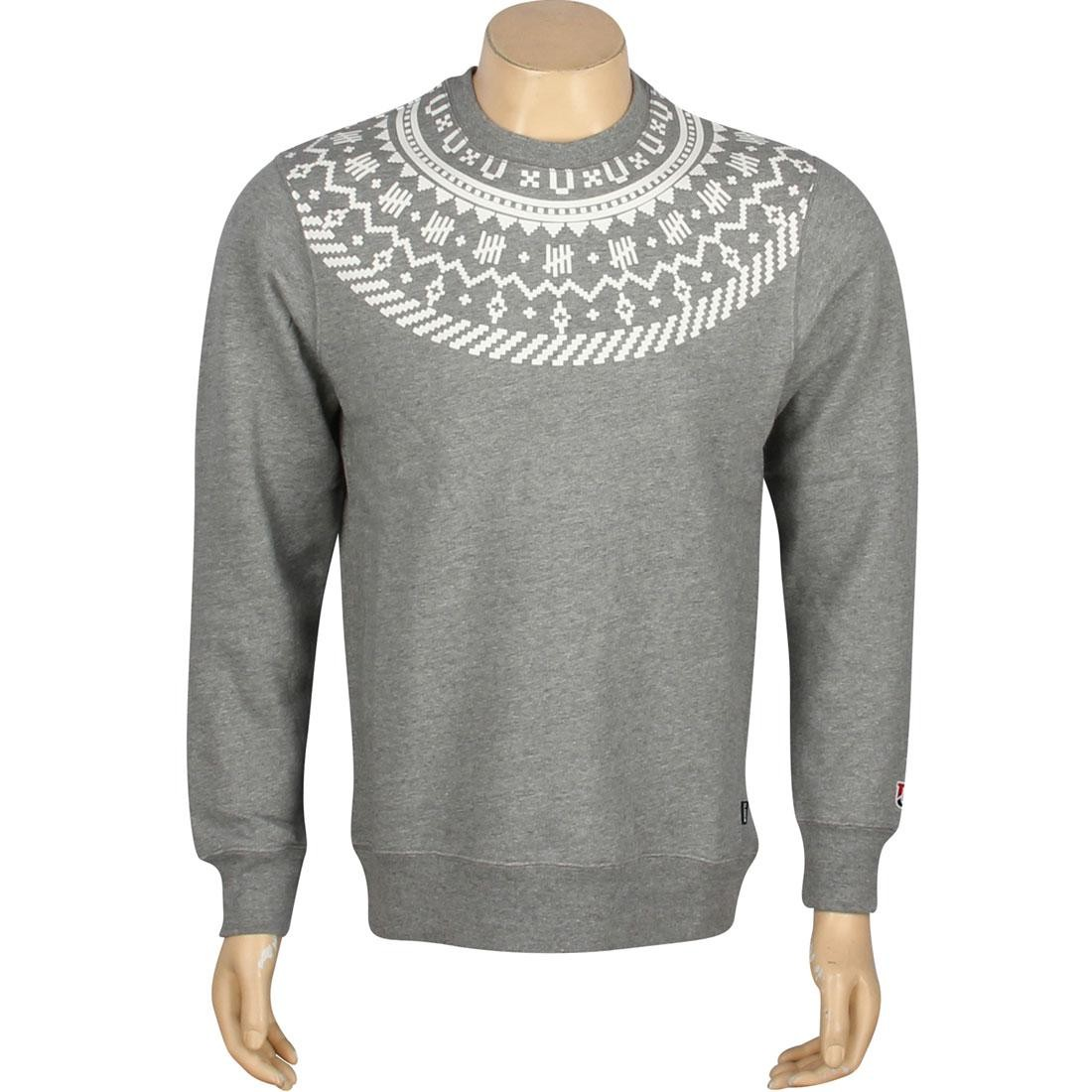 Undefeated Traverse Crewneck (gray / grey heather)