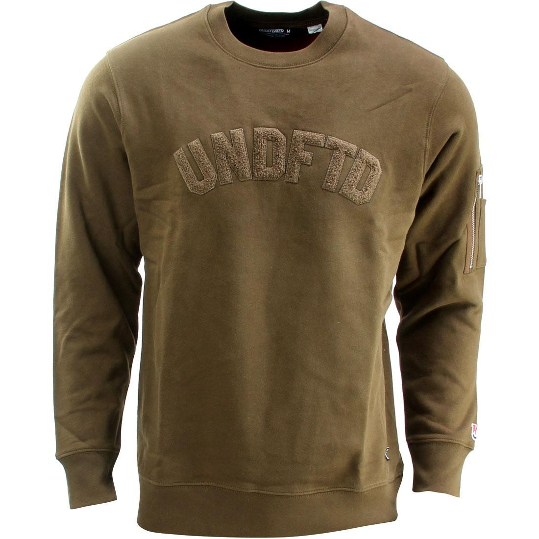Undefeated Flight Crew Sweater (olive)
