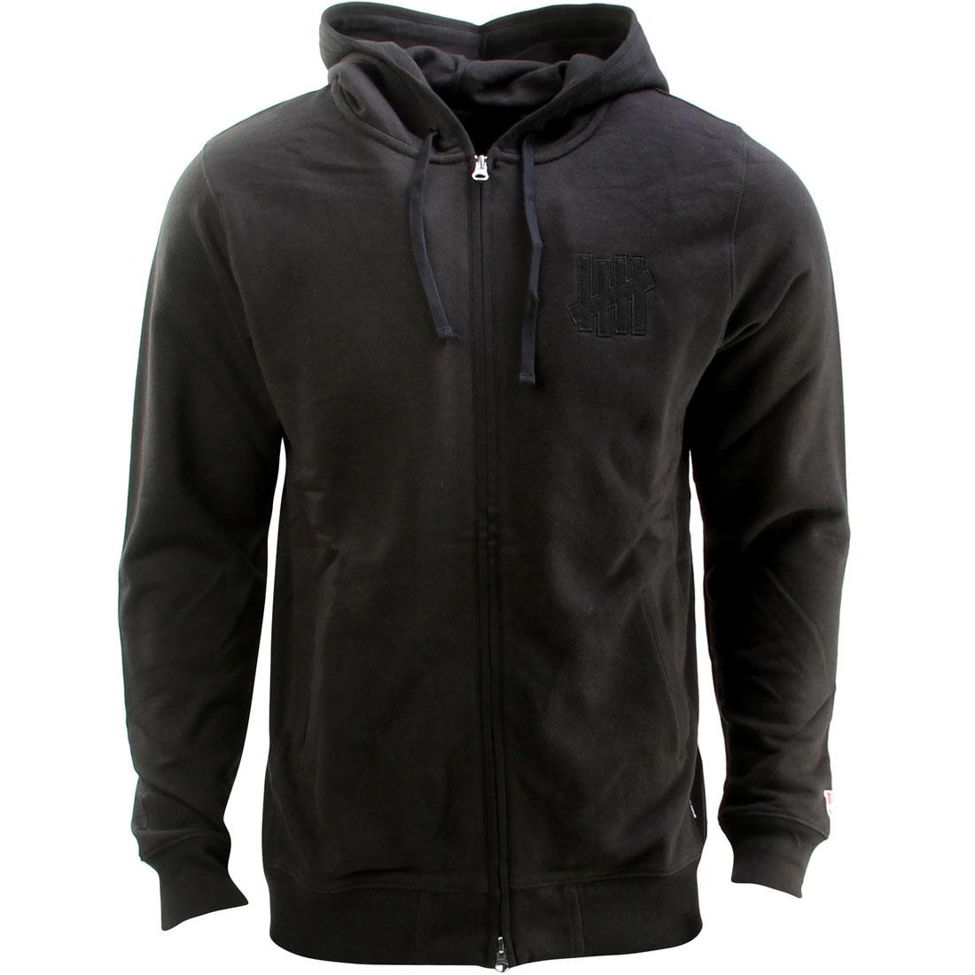 Undefeated Vincent Zip Hoodie (black)