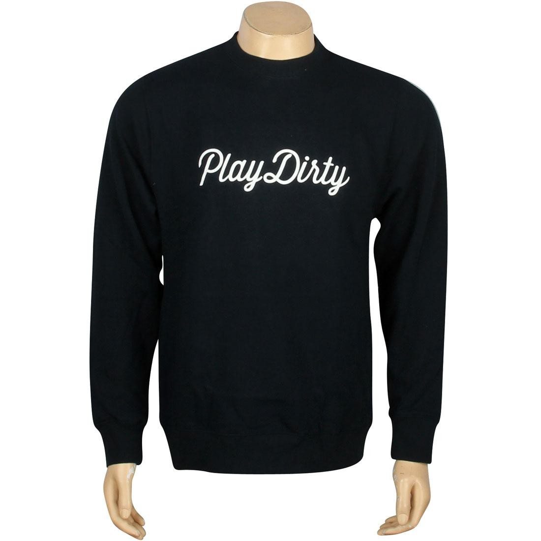 Undefeated Play Dirty Basic Pullover Crewneck (navy)