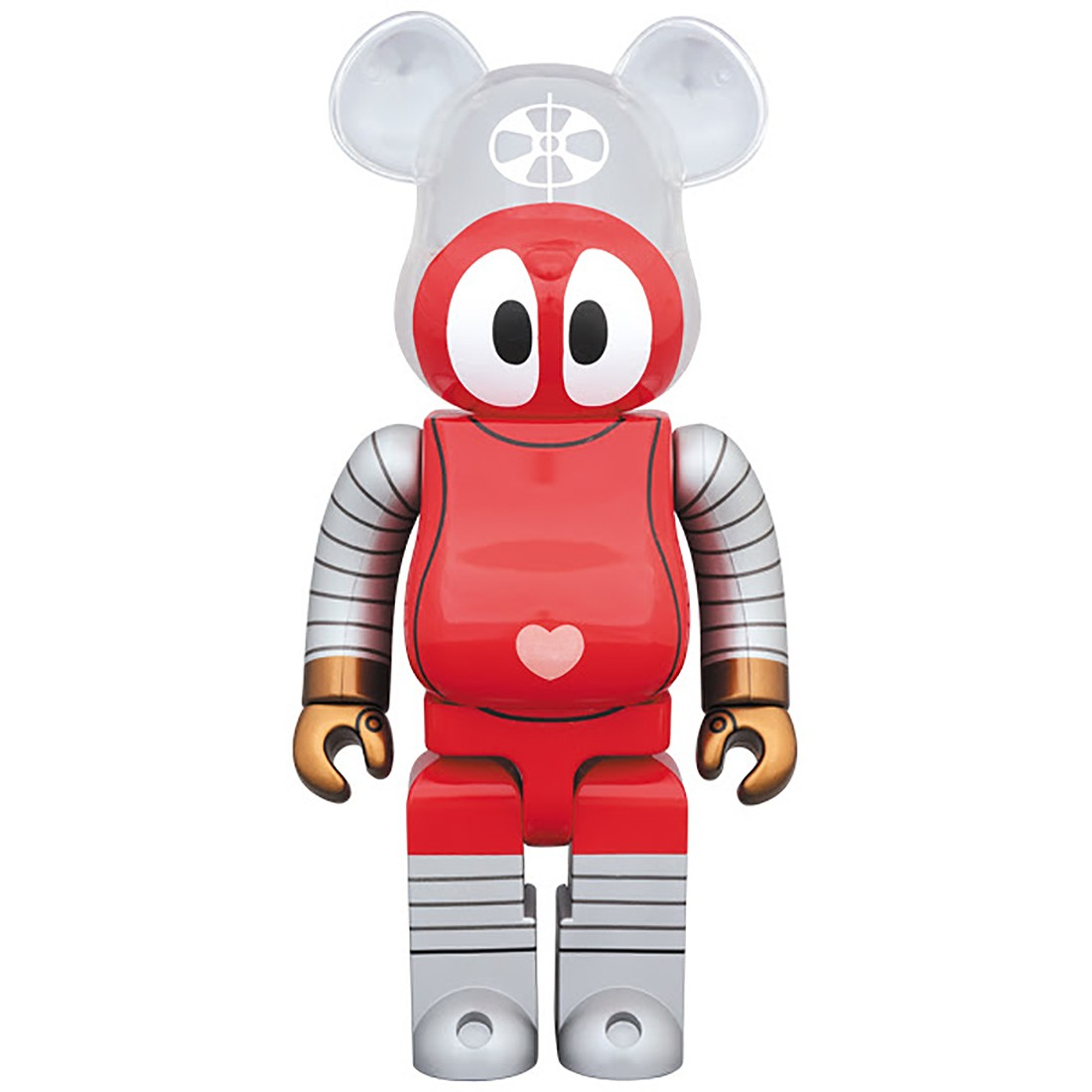 Medicom Robocon 400% Bearbrick Figure (red)