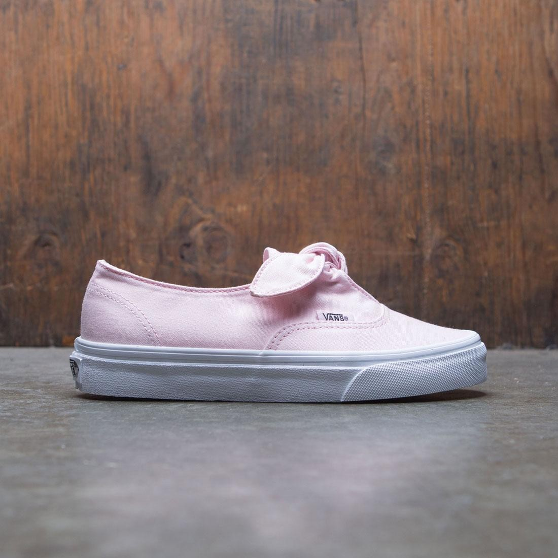 Vans Women Authentic Knotted pink white
