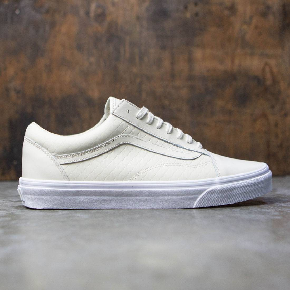 united kingdom famous brand hot-selling cheap Vans Men Old Skool DX - Armor Leather (green / turtledove)
